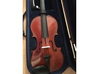 New Violin and case