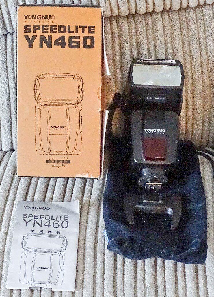 Speedlight YN460 Camera Flash
