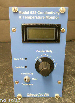 Wedgewood Technology Inc. Conductivity Temperature Monitor 622d7t---tf010