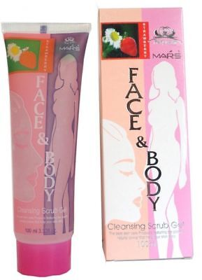 Mars face and body cleansing scrub gel 100 ml Multi Flavour best