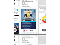 2 x Tottenham Hotspur vs Huddersfield Town VIP Club Wembley Tickets