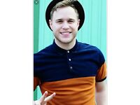 Olly Murs two tickets and two nights Glasgow hotel
