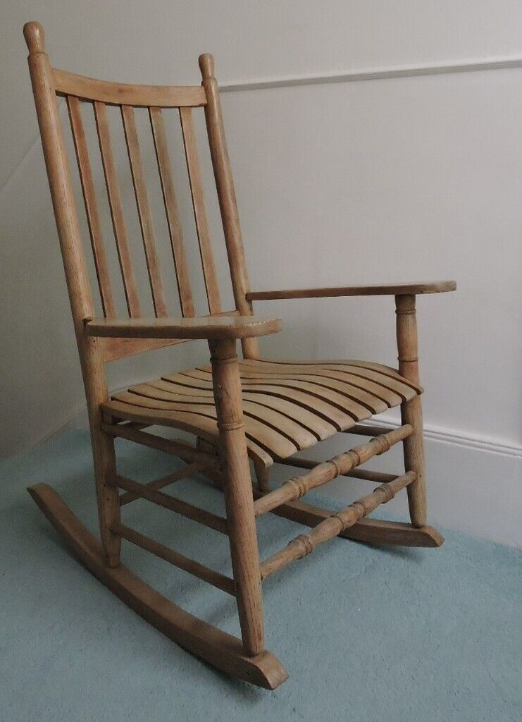 Picture of: Lovely Big Wooden Rocking Chair In St Leonards On Sea East Sussex Gumtree