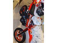 Zipper motorbike 50cc age range 5 - 10