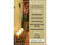 Massage SALE in a Private Apartment - MUST TRY