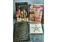 Wicca / pagan books and CD