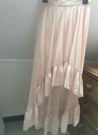 Long nude skirt from miss selfridge