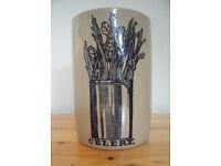 Vintage Pearson's earthenware celery pot. £4 ovno.