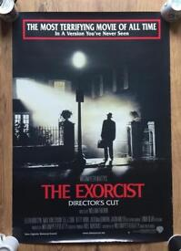 The Exorcist Original UK Cinema Poster