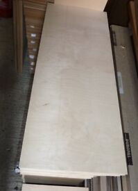 25 pieces of NEW 18mm B/BB Grade Premium Quality Russian Birch Plywood 36in x 15in (960mm x 380mm)