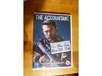 THE ACCOUNTANT DVD - BRAND NEW AND SEALED