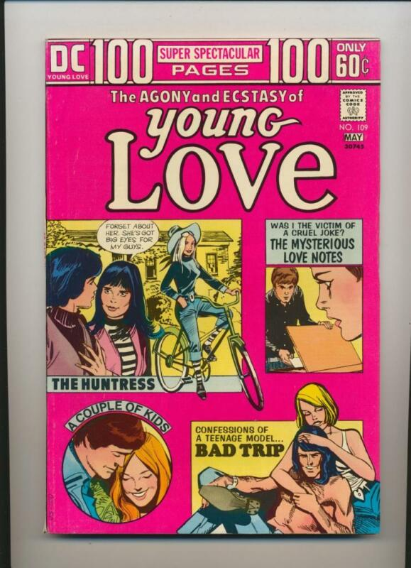 Young Love #109 (1974) VF/NM (9.0) Wood Art