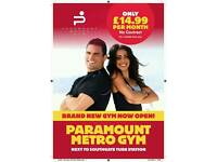 Personal Trainers required for Paramount Metro Gym Southgate