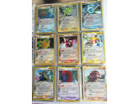 Pokemon cards - set of rare holo EX delta cards incl Blastoise Mewtwo Jolteon etc Mint condition