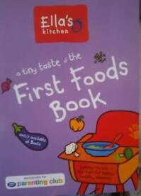 Ella's First Foods Book