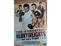 Boxing DVD's - 10 Greatest Heavyweights of all time