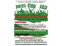 Brighton Tubthumpers' Halloween Special: songs of passion, protest & solidarity