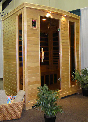 Infrared Carbon Sauna 3 Person Premium - Free Shipping - Lifetime Warranty