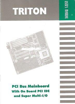 Guide Triton PCI Bus Motherboard /