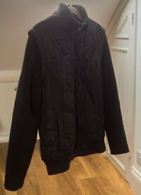MEN'S JACK & JONES JACKET WITH REMOVABLE SLEEVES SIZE L