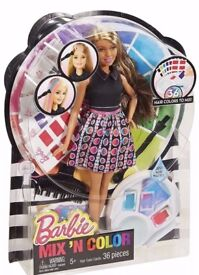 BARBIE MIX N COLOUR DOLL