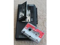 Realistic micro - 26 Microcassette Voice Recorder. Rare and Hard to find.
