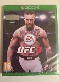 UFC 3 (XBOXONE) sealed