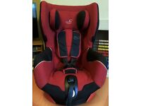 Maxi cosi Bebe Confort Oxygen Axiss Swivel Child Baby Car Seat Red