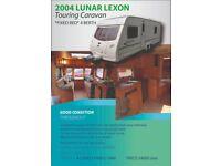 Touring Caravan 2004 LUNAR LEXON
