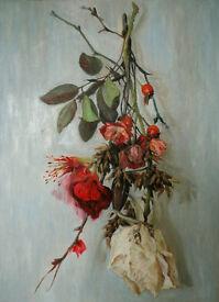 """Flowers"" - still nature painting"