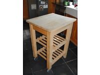 Beech Wood Kitchen Table / Chopping block