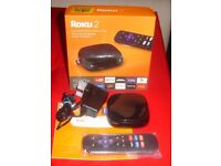 ROKU 2 STREAMING MEDIA PLAYER 4205 WITH FASTER PROCESSOR