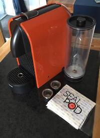 Nespresso U with Sealpod capsules