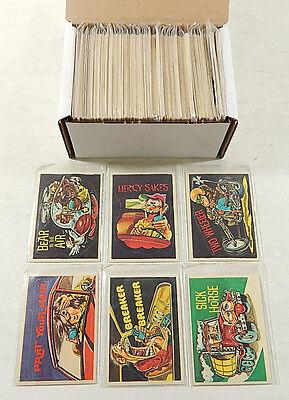 Lot of Approx (250) 1978 Donruss CB Convoy Code Sticker Cards ^ Avg Ex/Mt