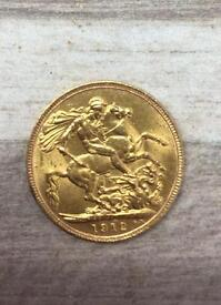 1912 full sovereign