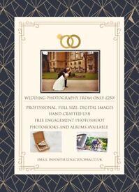 WEDDING PHOTOGRAPHY - ONE LOVE - FREE ENGAGEMENT PHOTOSHOOT - UK/PL