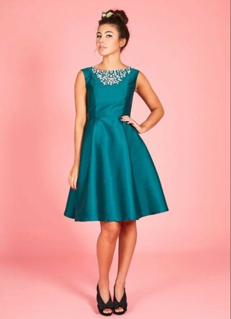 Joanieclothing Stunning Celeste Jewels Bridesmaid Formal Dress Size