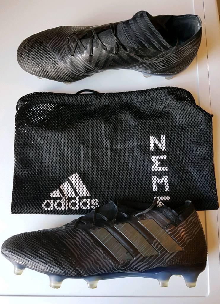 813da8a6b0ac Men's Adidas Nemeziz 17.1 FG/AG Football Boots - Black Size UK9 ...