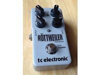 TC Rottweiler distortion pedal