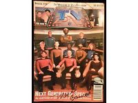 TV Zone Next Generation Special Autographed By Majel Barrett Roddenberry