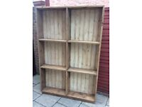 Reclaimed Timber, Large Wall Unit, New & Unused.