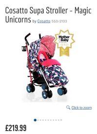 Cosatto Stroller Brand New Unicorns