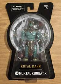 """Brand new in sealed box. Mortal Kombat X Kotal Kahn 6"""" Collectable Action Figure"""