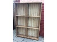 Reclaimed Timber Wall Unit / Book Case