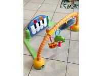Baby Kick and play Piano gym