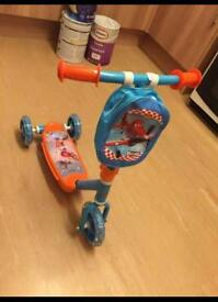 Cars planes kids scooter £10