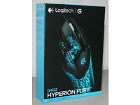 Logitech G402 Hyperion Fury Gaming Mouse (New, sealed)