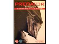 As New DVD: 'Predator Trilogy' (1987, 1990 & 2010)