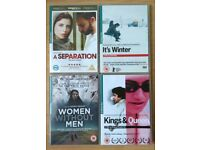 4 DVDs: 1) SEPARATION ,2) WOMEN WITHOU MEN ,3) IT'S WINTER ,4) KINGS & QUEEN - Artificial Eye DVD