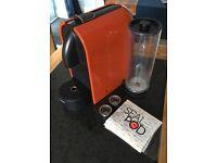 Nespresso U coffee machine with reuseable Sealpod Capsules